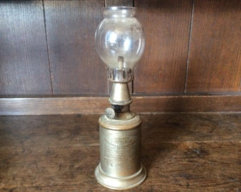 Vintage French Paris Lampe Pigeon alcohol oil paraffin lamp circa 1890 / English Shop