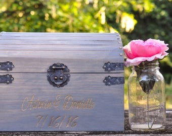 wedding card box, rustic wedding card holder, wedding card box, wedding card holder, wedding reception card box, card box, wedding deco