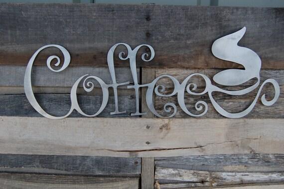 Metal Coffee Sign Coffee Shop Sign Coffee Mug Sign Coffee
