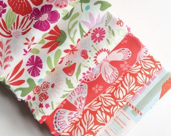 Kate Spain Mash Up Fat Quarter Bundle, Bungalow, Aria, Grand Canal, Curated in house, Limited Quantities