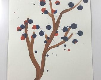 Blue Red Tree WESH