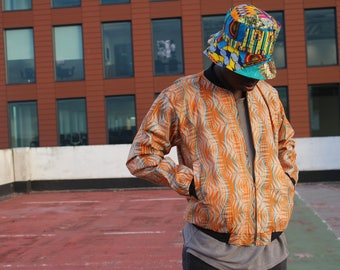 African Hat - Bucket Hat - Patchwork Hat - African Cap - African Clothing - Top Hat - African Bucket - Winter Scarf - Colourful Hat