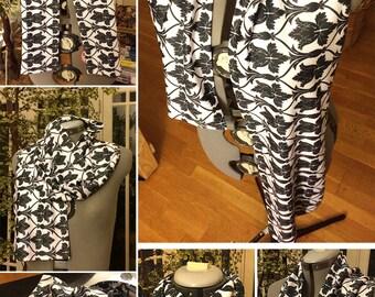 Sherlock -inspired 221B scarf (larger pattern variant) sherlock scarf sherlock wallpaper