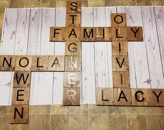 Scrabble Letters, Free Shipping