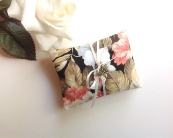 Lavender Sachets Bridal Shower Favors - Set of 2 Hand Made Lavender Sachets Hostess Gifts