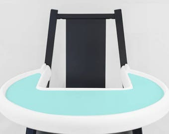 Tropical Blue // IKEA Blames Highchair Silicone Placemat // High Chair Place Mat