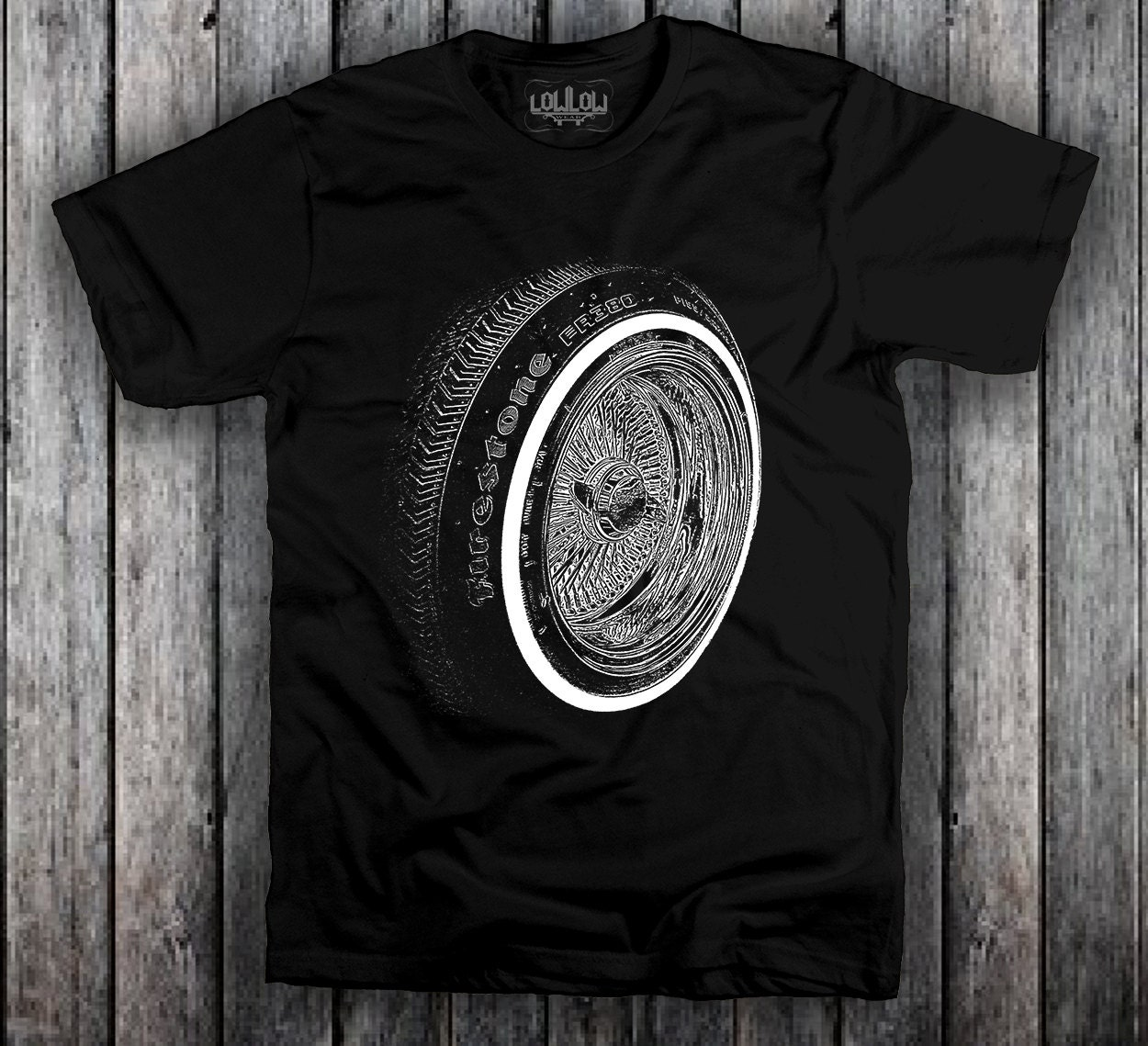 Lowrider 13 Knockoff Draht Rad T Shirt