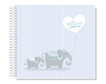 Design Your Own, Customised Baby Keepsake Journal 'The Penelope'