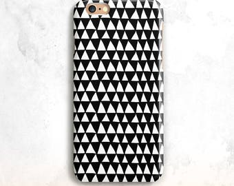 iPhone 8 cas, géométriques noir iPhone 7 cas, iPhone X cas, géométrique iPhone 6, iPhone 7 cas, Tribal iPhone 6 cas, iPhone 5, iPhone 8 Plus