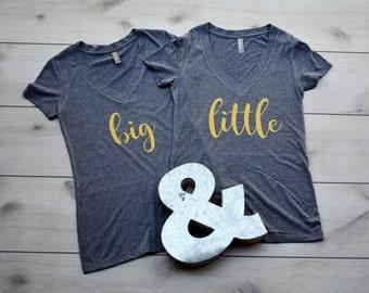 Big Little Shirts - Big Little Sorority Shirt - Sorority Shirts - Big Little Tshirt - Bid Day Shirt - Big Little Reveal Shirt - Sorority Tee