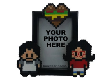Couples Picture Frame - Nerdy Picture Frame - Nerdy Wedding Gift - Nerdy Anniversary Gift - Geeky Wedding Gift