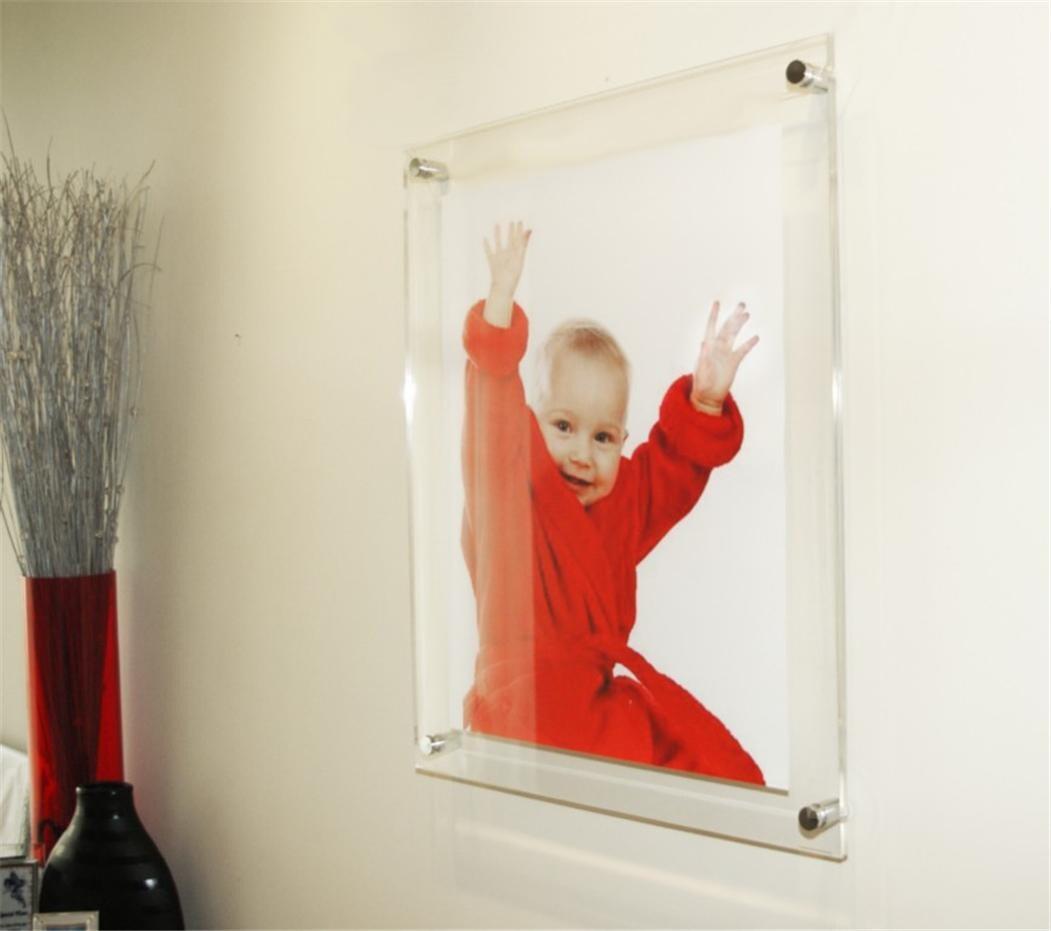 Clear high gloss Cheshire acrylic 12 x 18 / 30 x 45 cm /18 x 12 ...
