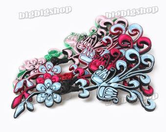 Sewing Fasteners knotting Fabric Chinese Extra large phenix phoenix decorative knots Cheongsam Frogging Button