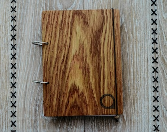 Wooden notebook - A5 Size
