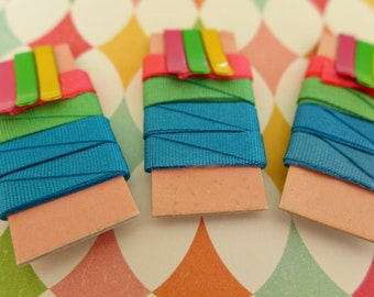 Vintage Barbie Color Magic Hair Ribbons & Clips