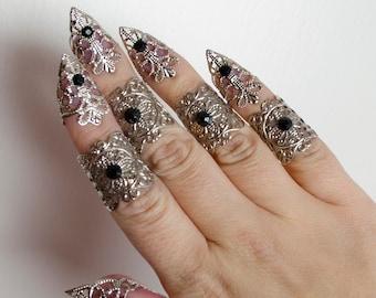 elven armor - Goth claw set - set of 5