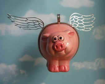 When Pigs Fly Crash and Burn Flying Pig