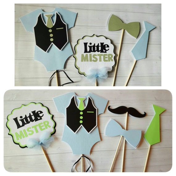 Little Man Centerpiece Little Man Baby Shower Centerpiece Little Man  Centerpiece Little Man Boy Baby Shower Baby Boy Onesie Centerpiece