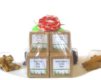 BBQ Rub/Gift Bag/Seasoning Blends/Dry Rub/Spice Rack/Food Gift/Gifts For Foodies/Foodie Gift/Seasonings Gifts/Corporate Gifts/Chef Gift