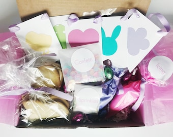 Easter gift box etsy easter cookie decorating kit kids easter cookie kit negle Gallery