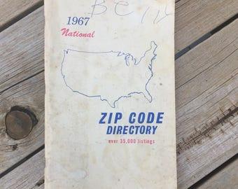 1967 National Zip Code Directory