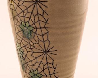 Porcelain ceramic tumbler