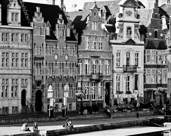 Ghent Canal Buildings (Belgium)