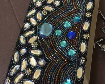 Vintage Exotic Beaded Purse Evening Bag