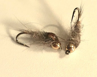 Hare's Ear Nymph - Bead Head Nymph - Multiple Sizes -Fly Fishing Fly - Trout Fly