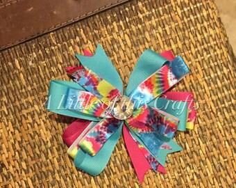 Tie-dye Bow