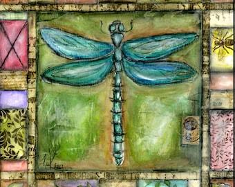 Dragonfly Big Print