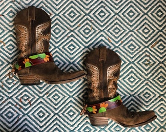 Prickly Pear Boots Cuffs