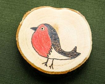 Christmas tree decoration - robin