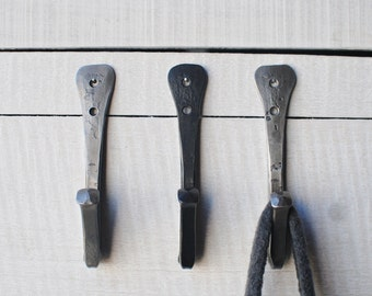 Wall Hook, Handforged Hook, Coat Hooks, Towel Hooks, Metal Hooks, Forged Hooks