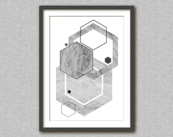 Posters and prints printable wall art prints and posters instant download printable wall decor download abstract art print monochrome print