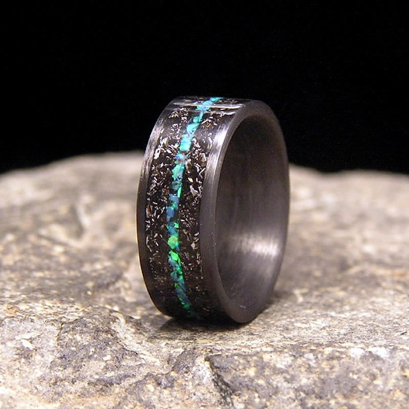 zoom - Carbon Fiber Wedding Rings