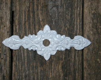 1 Furnitue Applique / knob backplates / hardware accessories / back plates / architectural pieces