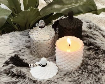 Luxury Baby geo-cut Soy candles 90gms