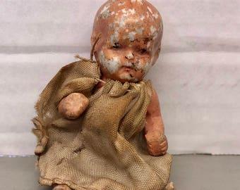 Antique Miniature Doll