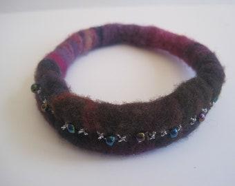 Felted Bracelet