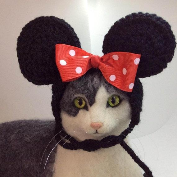 Minnie Mouse Minnie Mouse Cat Hat Cat Costume Cat