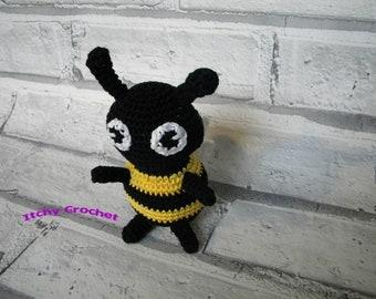 Bumble Blip Crochet Pattern, Amigurumi, Softie, toy, diy, how to