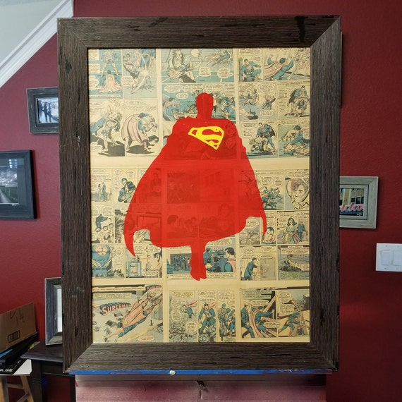 Superman Original Painting
