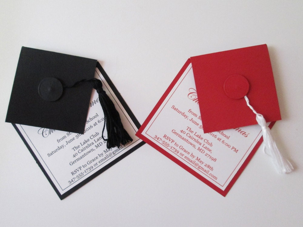 unique graduation invitations