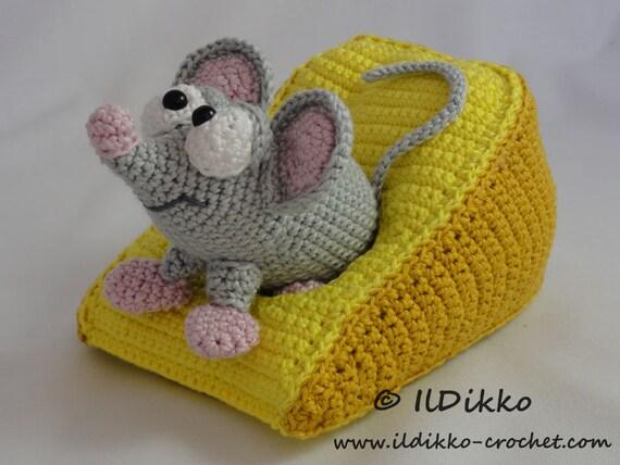 Amigurumi Mouse Pattern Crochet : Amigurumi crochet pattern manfred the mouse english