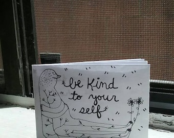 Be kind to yourself - a pocket zine for empowerment -