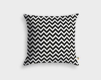 Modern zig zag pillow - Made in France - 45 x 45 cm