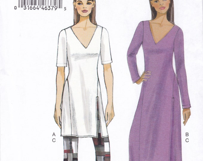 FREE US SHIP Vogue 9159 Tunic Blouse Wide Leg pants Size 16 18 20 22 24 26 Bust 38 40 42 44 46 48 plus size Sewing Pattern 2015