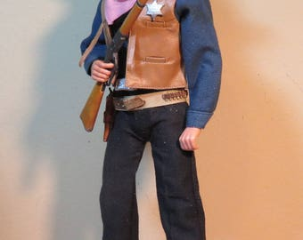 Custom Marshal Rooster Legendary Hollywood  (In Stock!) 1/6 scale cowboy figure