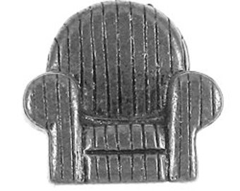 Comfy Chair Lapel Pin - CC148- Furniture and House, Home Lapel Pins